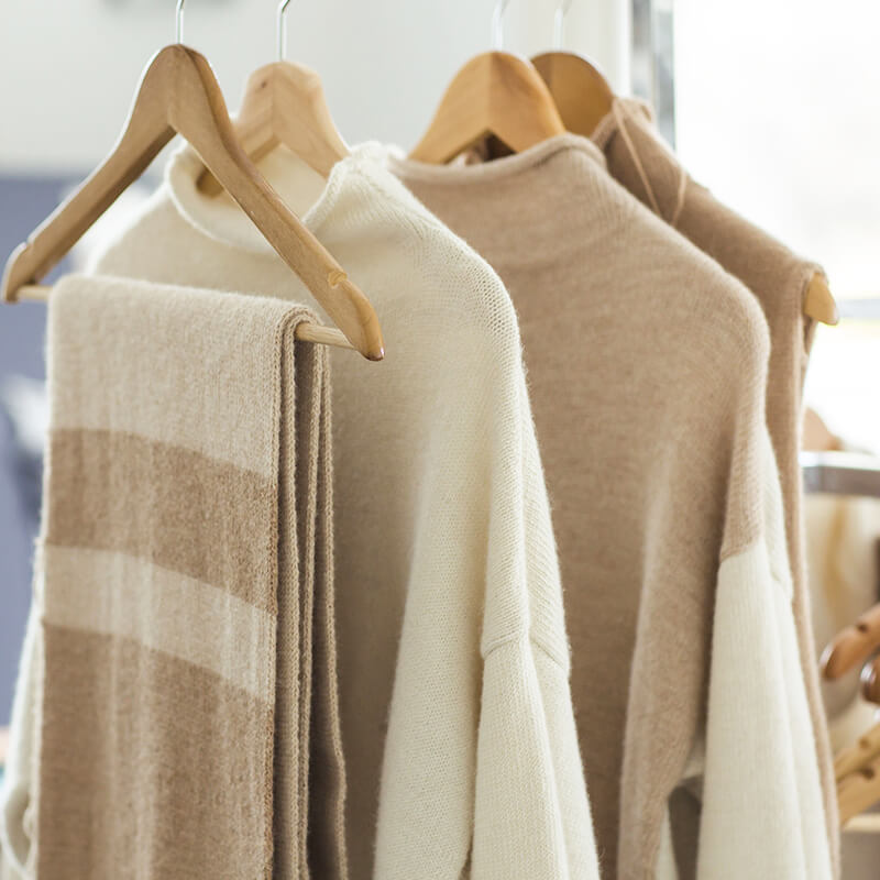 Alpaca wool winter collection