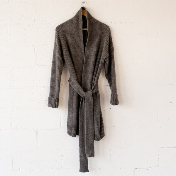 sustainable knit cardigan