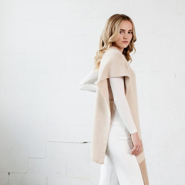 Alpaca wool scarf- Premo