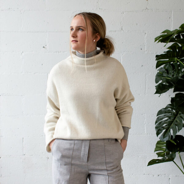 sustainable woolen jumper