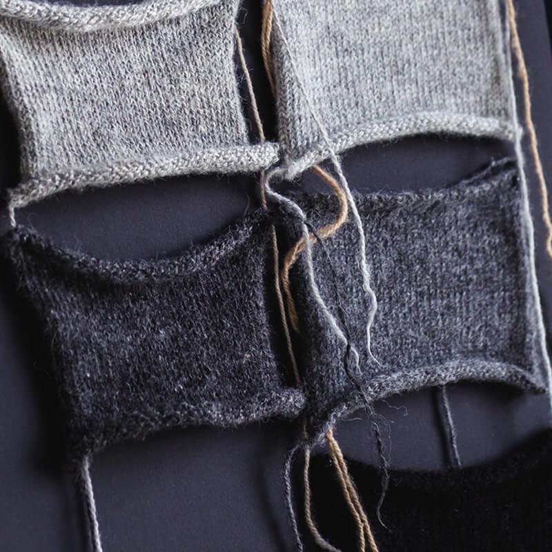 Alpaca knitwear - Hand spun alpaca wool